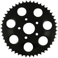 Black 530 Chain Conversion Flat Rear Sprocket – 49 Tooth 86-99 Big Twin