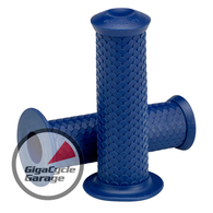 "Lowbrow Customs Fish Scale Grips - 1"" - Midnight Blue"
