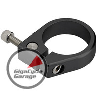 Biltwell Inc. Duo Pipe Clamp - Black