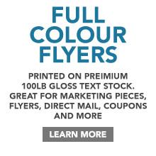 Full Colour Flyer Printing