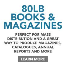 80lb Book & Magazine Printing