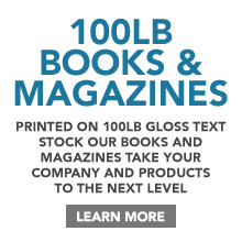 100lb Book & Magazine Printing