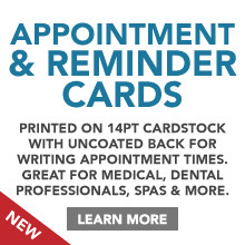 Appointment & Reminder Cards