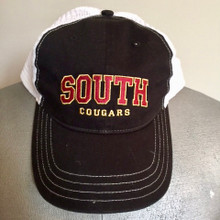 12 Trucker Snapback Hat with Embroidered SOUTH Cougars logo