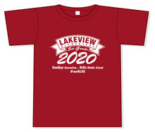 Lakeview - Good Bye Quarantine.... Hello Middle School T-Shirt