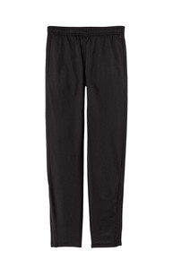 Sport-Tek ® Tricot Track Jogger (BLACK) with Wild Rose Embroidered Logo Leg
