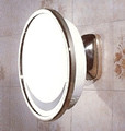 Aliseo 113AL Lighted Wall Mount Vanity Mirror - Gold