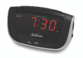 Sunbeam CR1006-005 Clock Radio with Daily Alarm Reset and USB