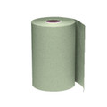 "Windsoft 1 Ply Nonperforated Hardwound Roll Towels 8"" Dia, 800 Ft, Natural, Case of 6"
