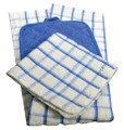 Oxford Pot Holders, 7 X 7, 100% Cotton, 1 dozen