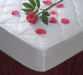 "Comfort Choice Deluxe Quilted Mattress Pad, Queen 60x80, Fitted 12"" Elastic Skirt, 10 Per Case, Price Per Each"