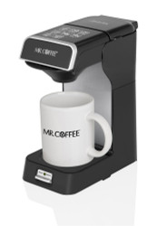 Mr coffee cm2004 005 commercial 1 cup pod coffeemaker for Small apartment coffee maker