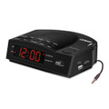 Conair WCR14 Alarm Clock Radio with USB Charging Port
