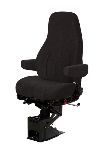 Commercial Truck Sales >> National 50764.365 Captain Hi Back Black Mordura with arms Truck Seat