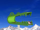 Ali Gator - Green
