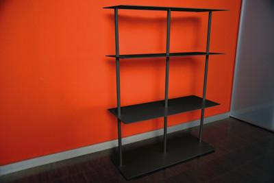 Miss Moneypenny Black 3-Shelves