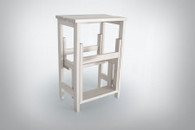 Stool Ladder White