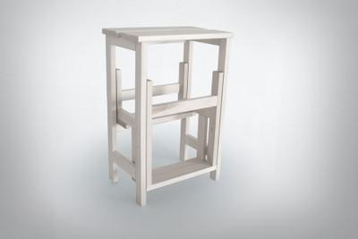 Stool Ladder White