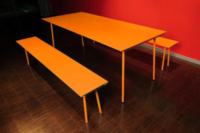 Air Bench Orange
