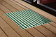 Feet-Back III Door Mat Extra Large Green