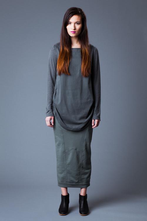 Prairie Underground - Steamer Skirt in Black - Show Pony Boutique
