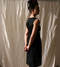 Modaspia - Fiji Dress in Black Linen $180 - Show Pony Boutique