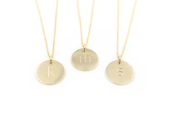 Whitley Designs - Gold Initials