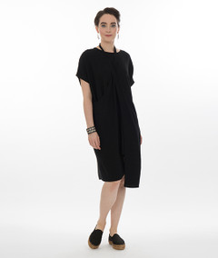 Niche - Origami Tunic in Black