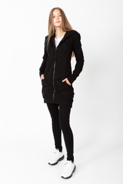 Prairie Underground - Guinevere Hoodie in Black $275 - Show Pony Boutique