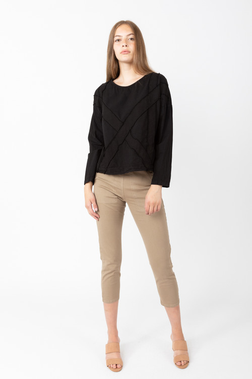 Prairie Underground - Pin-Up Legging in Lamb's Ear $150 - Show Pony Boutique