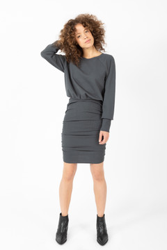 Prairie Underground - Hang Out Dress in Black