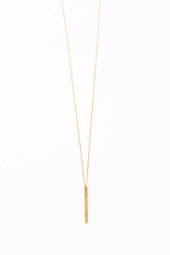 Veronica & Harold - Natalie Necklace Short in Gold - Show Pony Boutique