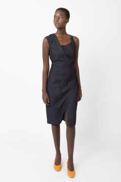 Prairie Underground - Morphology Dress in Denim Wash $176 - Show Pony Boutique