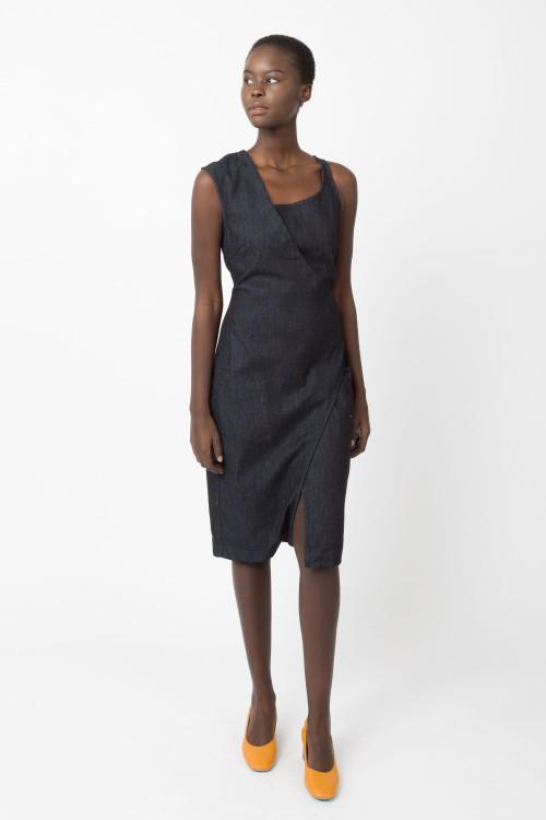 Prairie Underground - Morphology Dress in Denim Wash $176 - Show Pony Boutique