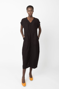 Prairie Underground - Amorphous Dress in Black $187