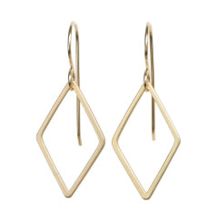 Tasi & Stowaway - Diamond Earrings in Multiple Metals  - Show Pony Boutique - $20