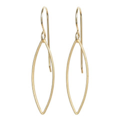 Tasi & Stowaway - Marquis Earrings in Multiple Metals  - Show Pony Boutique - $20