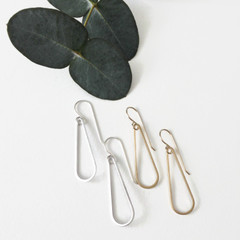 Tasi & Stowaway - Luda Earrings in Multiple Metals  - Show Pony Boutique - $22
