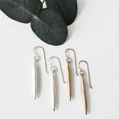 Tasi & Stowaway - Sabra Earrings in Multiple Metals -Show Pony Boutique- $28