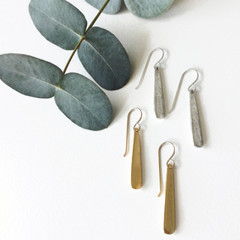 Tasi & Stowaway - Kat Earrings in Multiple Metals -Show Pony Boutique- $28