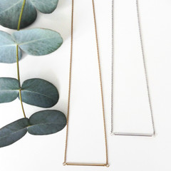 Tasi & Stowaway - Clio Necklace in Multiple Metals -Show Pony Boutique- $22