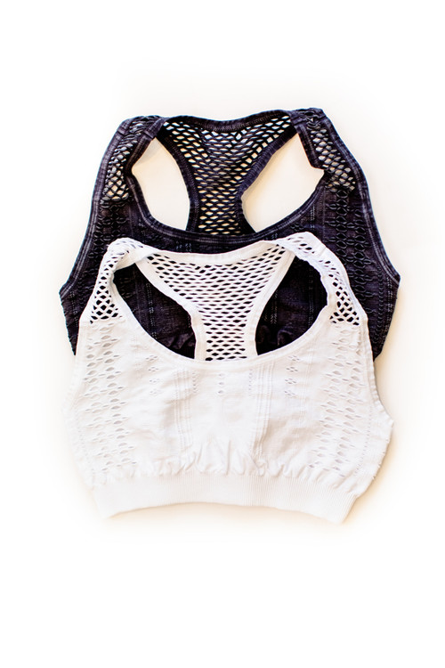 Racer Bralette in Multiple Colors - One Size $32 - Show Pony Boutique