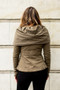 Prairie Underground - Cloak Hoodie in Army $230 - Show Pony Boutique