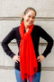 Show Pony - Cashmere Scarf in Red $48 - Show Pony Boutique