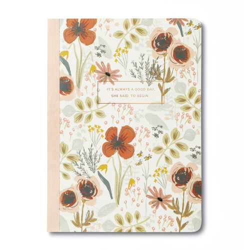 """Compendium - Composition Notebook """"It's Always a Good Day"""" $7.95 - Show Pony Boutique"""