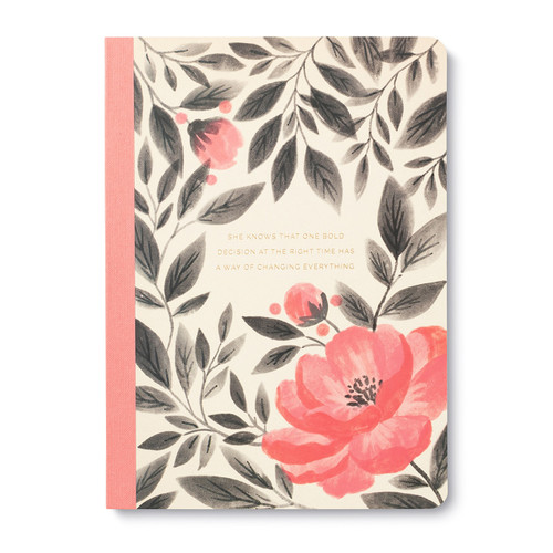 "Compendium - Composition Notebook ""One Bold Decision"" $7.95 - Show Pony Boutique"