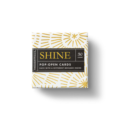 "Compendium - Thoughtfulls Pop Open Cards ""Shine"" $7.95 - Show Pony Boutique"