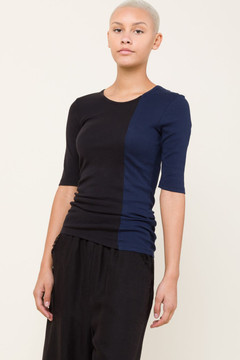 Prairie Underground - RECON 1/4 Sleeve Crew in Midnight/Black $84 - Show Pony Boutique