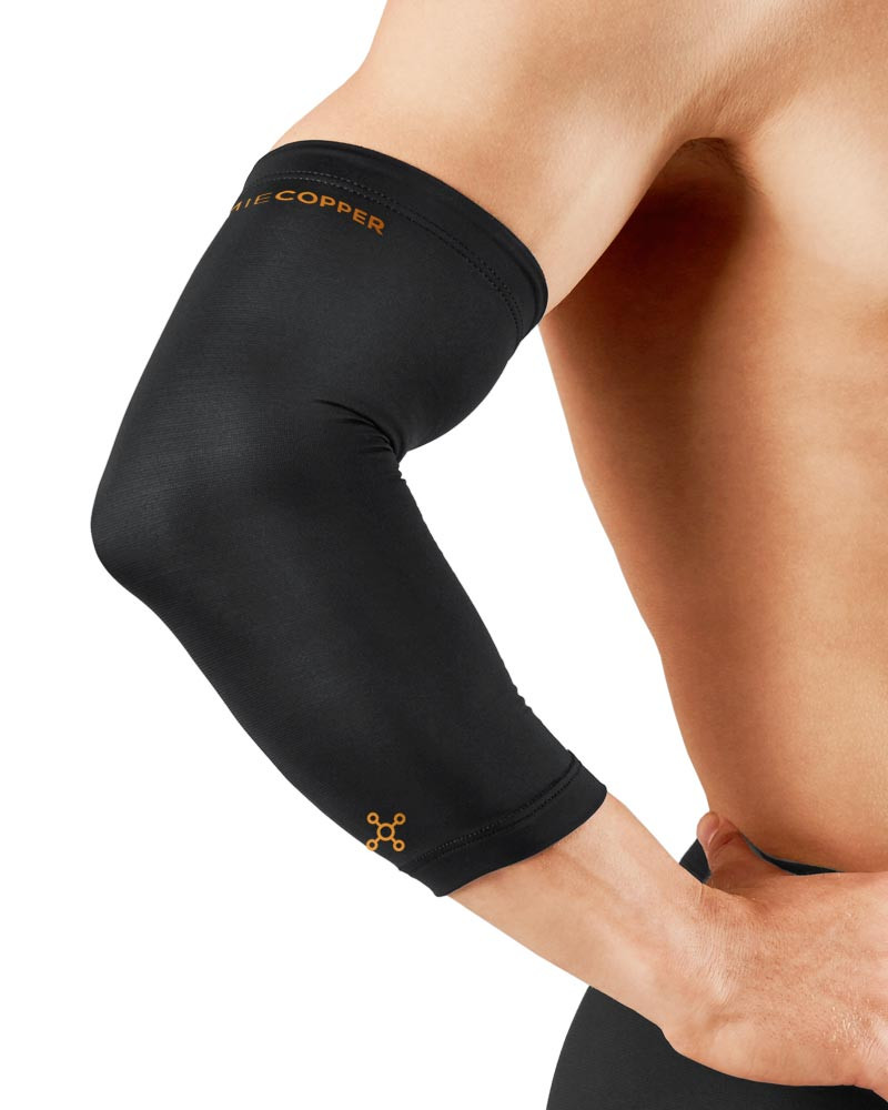 4f68decbcf Tommie Copper Men's Recovery Compression Elbow Sleeve (0503UR)