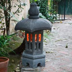 Beau Pagoda Garden Lanterns